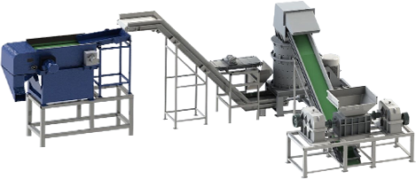 固体废物处理回收设备工艺